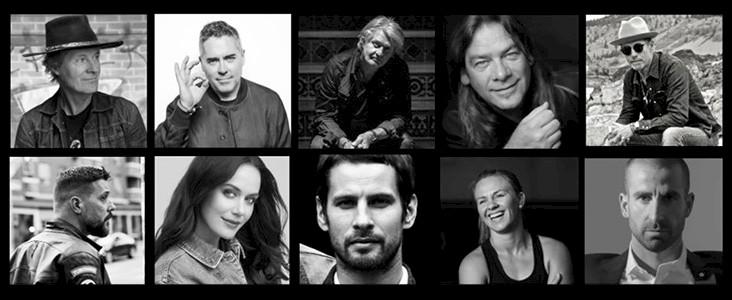 Various celebrities
