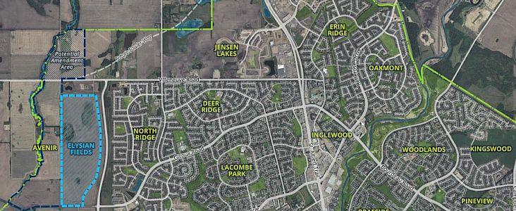 Range Road 260 ASP Location Map