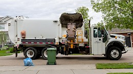 waste truck collection garbage
