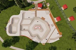 Site Plan View