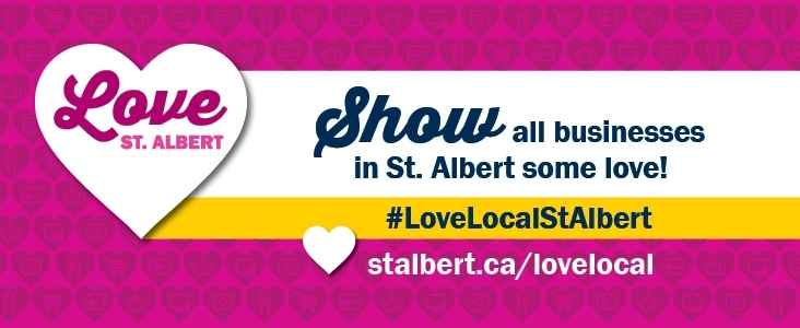 Love St. Albert - Show all businesses in St. Albert some love!