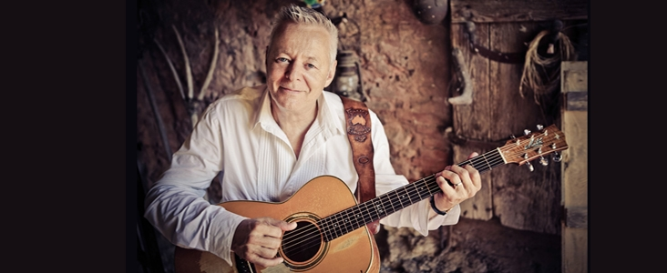 Tommy Emmanuel and guitar