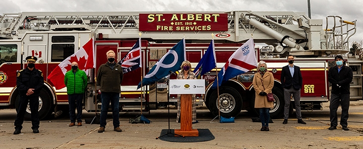 Fire Hall 1 Ground-Breaking Ceremony