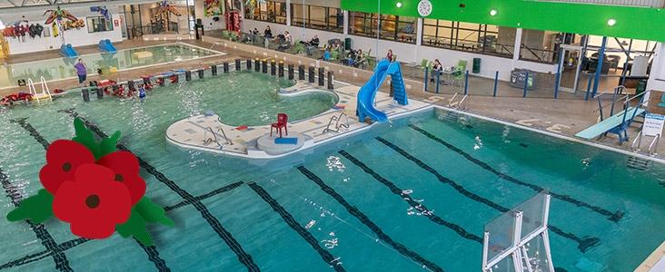 St. Albert Dodge Leisure Pool at Fountain Park Recreation Centre
