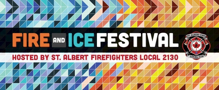 Fire and Ice Festival banner