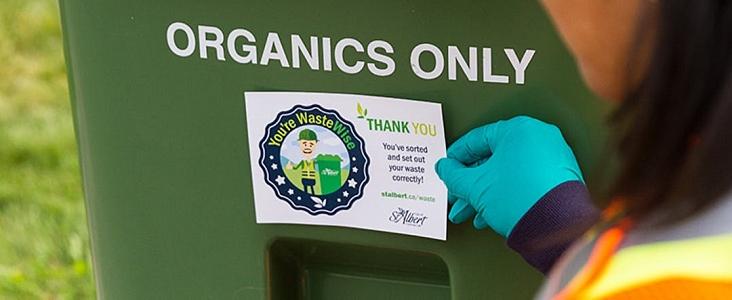 Green organics cart
