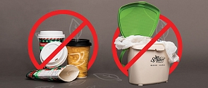 Items that can't be put in the Green Organics Cart