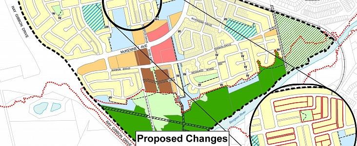 Proposed Amendment Area Map
