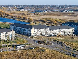 Aerial view of the Ville Giroux Neighbourhood