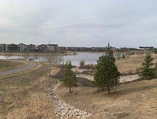 Jensen Lakes neighbourhood in Saint Albert, Alberta