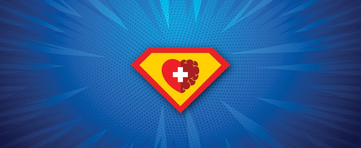 Mental Health Hero symbol