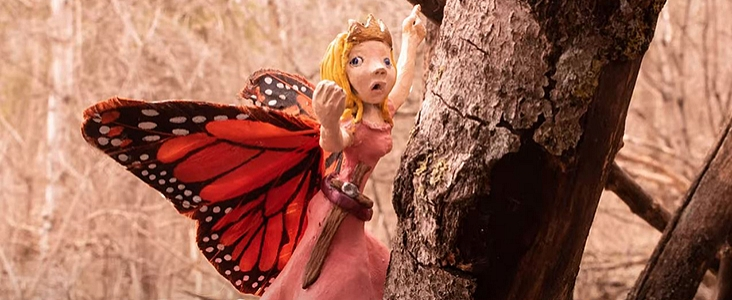 Fairy in a tree