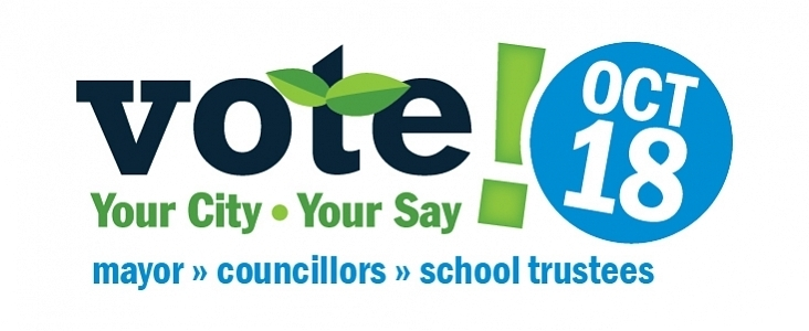 Vote in the City of St. Albert Municipal Election