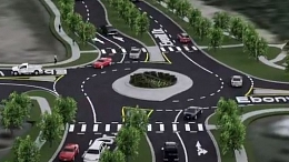 Everitt Drive North and Ebony Way Intersection Roundabout