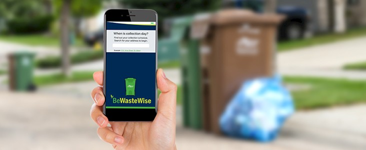 Be Waste Wise app.