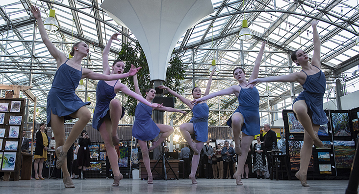 Dancers at the Mayor's Awards