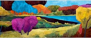 Colour Fields II, Angela Grootelaar, 2010, Acrylic on Panel