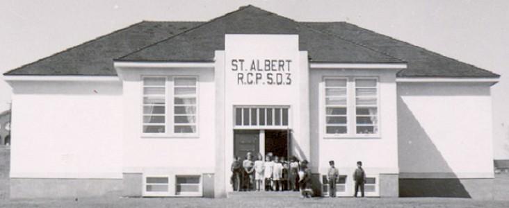 Little White School House in St. Albert