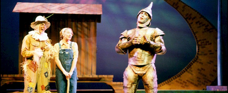 Photo from the SACT 1997 production of The Wizard of Oz