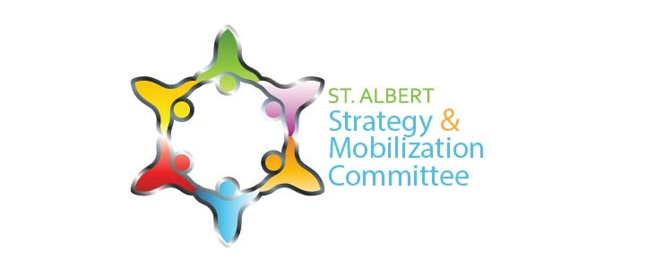 St. Albert Strategy & Mobilization Committee logo