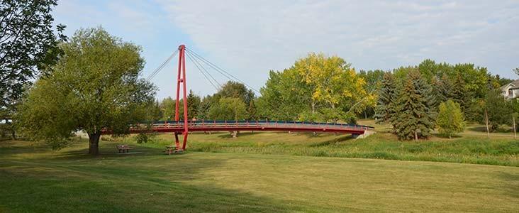 Children's Bridge on a sunny day