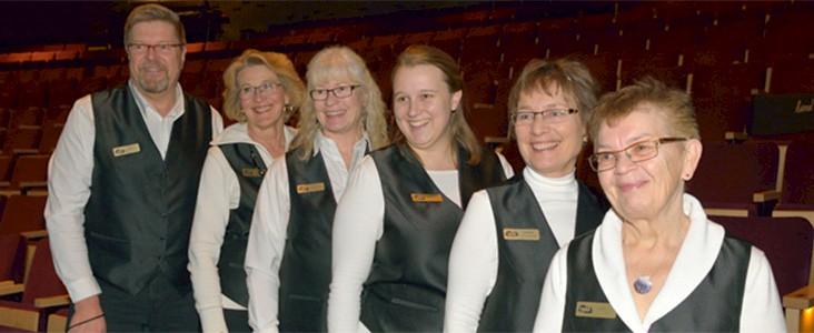 Arden Theatre volunteers