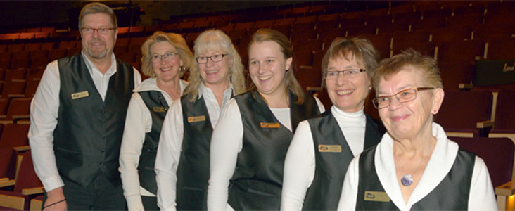 Arden Theatre volunteers