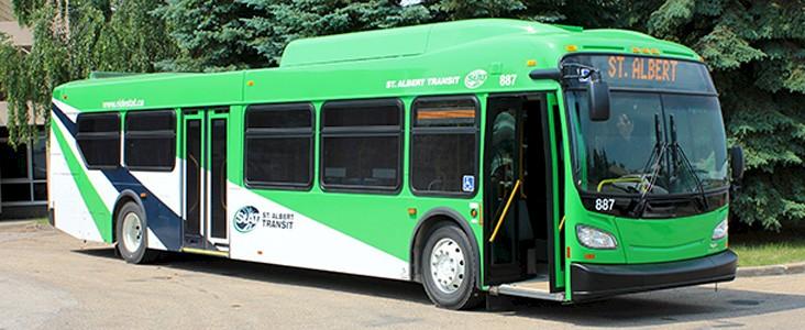 A St. Albert Transit bus