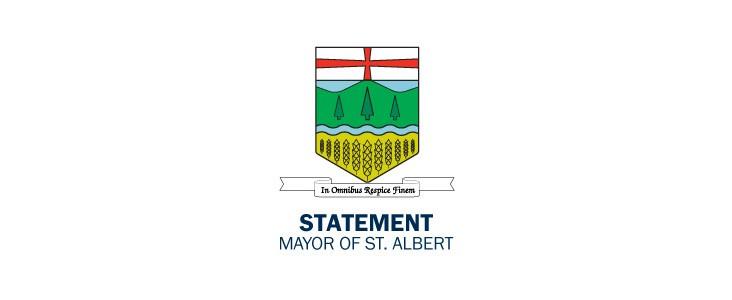 The City Council emblem with a Statement title
