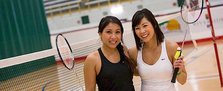 Badminton at Servus Place