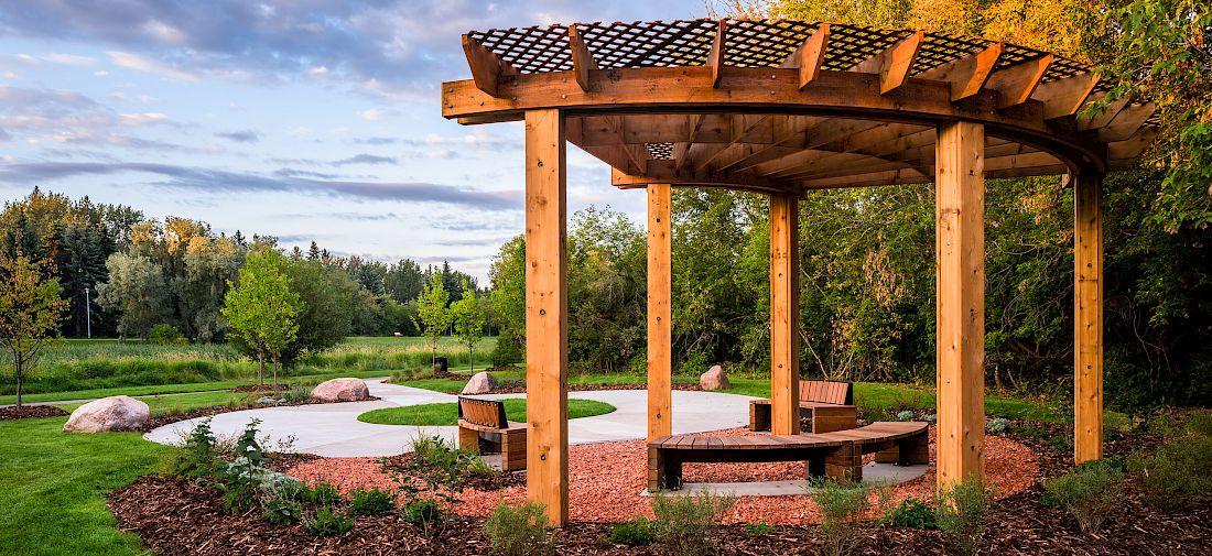St. Albert Healing Garden