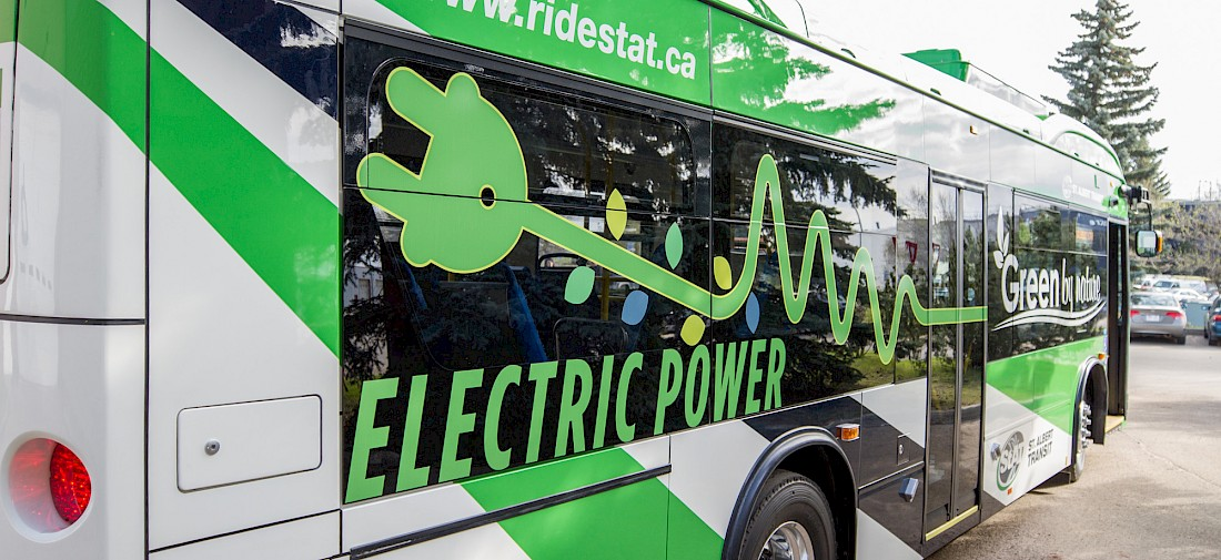 A growing fleet of sustainable electric buses