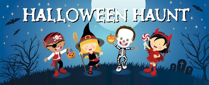 Cartoon of kids in costumes