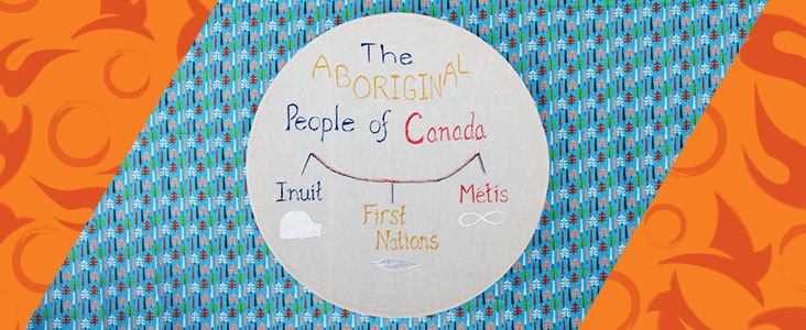 The aboriginal people of Canada Drum