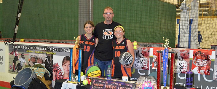 Basketball Booth at Sports Day