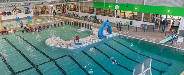 Fountain Park Recreation Centre interior pool