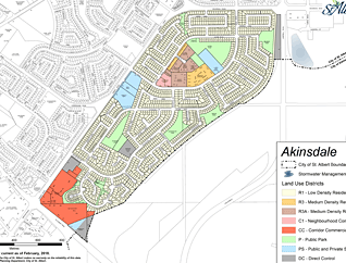 Akinsdale neighbourhood map preview