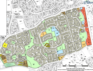 Lacombe Park neighbourhood map preview
