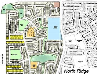 North Ridge neighbourhood map preview