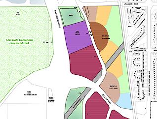 South Riel neighbourhood map preview