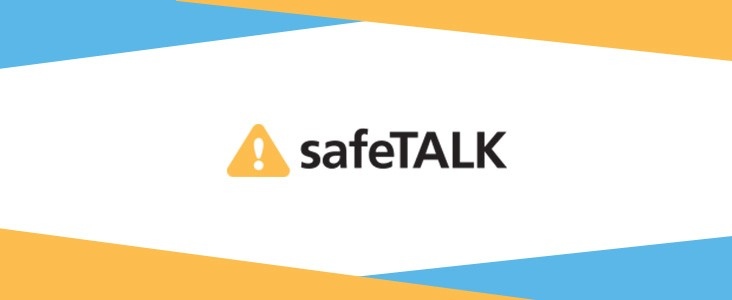 Safe Talk logo