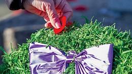 Wreath with poppy