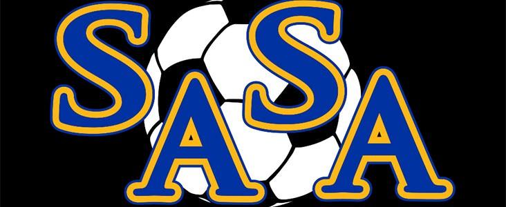 St. Albert Soccer Association logo