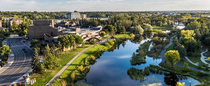 River Valley in St. Albert