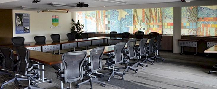 Douglas Cardinal Boardroom